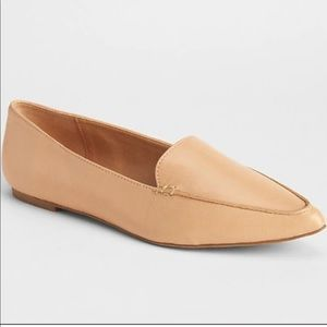❗️GAP Nude Point Toe Loafers MSRP $98